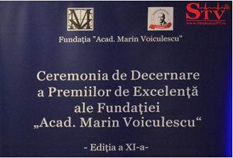 A XI-a editie a Ceremoniei de Decernare a Premiilor de Excelenta 2015 Academician Marin Voiculescu s-a desfasurat astazi