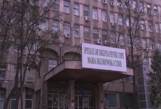 A crescut numarul copiilor cu afectiuni grave transferati la Spitalul Marie Curie din Capitala