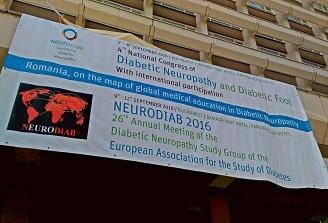 Cel mai important eveniment european al anului 2016 dedicat neuropatiei diabetice incepe astazi