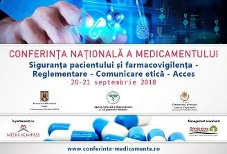 Conferinta Nationala a Medicamentului 2018