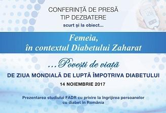 Eveniment in contextul Zilei Mondiale a Diabetului 2017