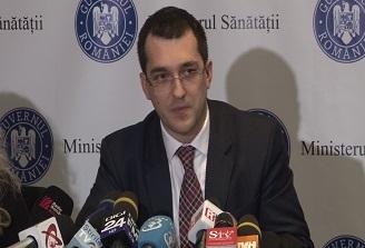 Ministrul Sanatatii, Vlad Voiculescu, a prezentat astazi bilantul celor sapte luni de mandat