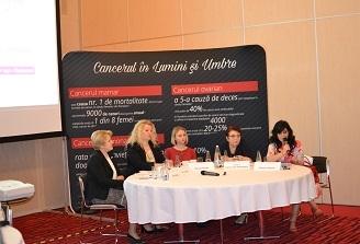 """Provocarile cancerului la femei, dezbatute la Conferinta """"Dialoguri pentru viata: Sanatatea feminina si Oncologia"""", Bucuresti"""