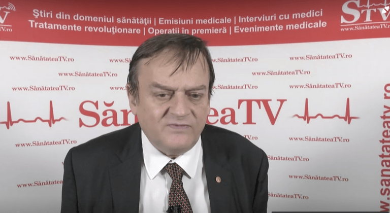 VIDEO Interviu cu prof. dr. Ovidiu Băjenaru, despre tulburările de somn și accidentele vasculare cerebrale