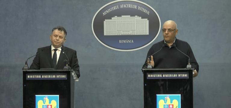 VIDEO – Coronavirus: Conferință de presă convocată de urgență la Ministerul Afacerilor Interne
