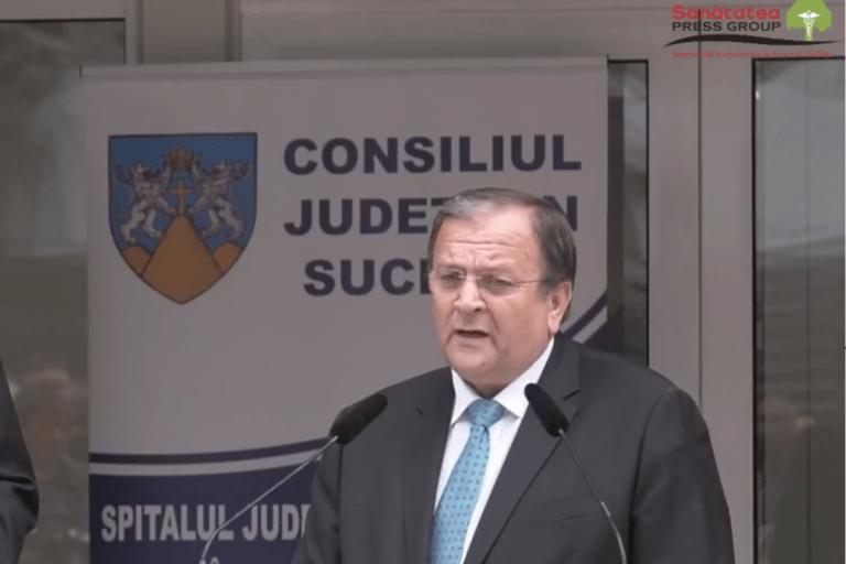 Presedintele CJ Suceava: Spitale noi de Oncologie si Pediatrie la Suceava