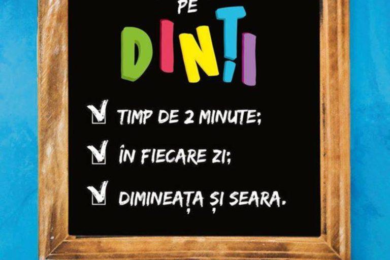 O noua campanie de promovare a sanatatii orale, demarata inscolile din Bucuresti