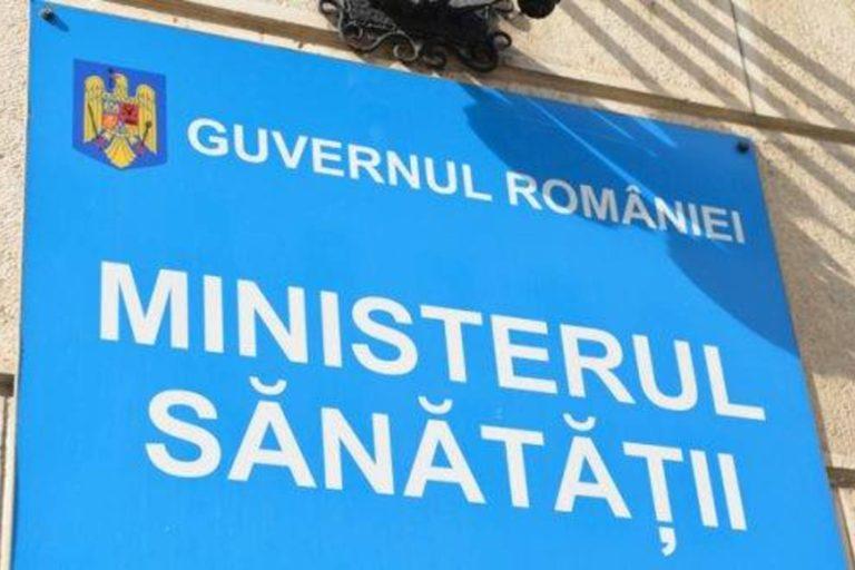Ministerul Sănătății: Un alt angajat, confirmat cu noul coronavirus