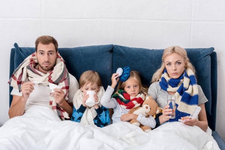 """Aproape 40.000 de persoane au fost diagnosticate cu infectii respiratorii acute in perioada 30 decembrie """""""" 5 ianuarie"""