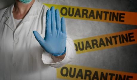 La Galați, centrul de caratină pentru suspecții de coronavirus, amenajat într-un liceu