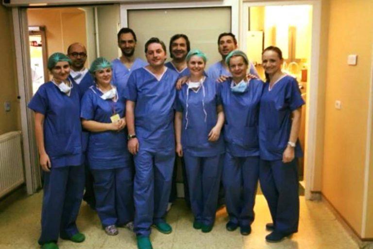 """Un nou transplant de plamani, realizat la Spitalul """"Sfanta Maria"""""""