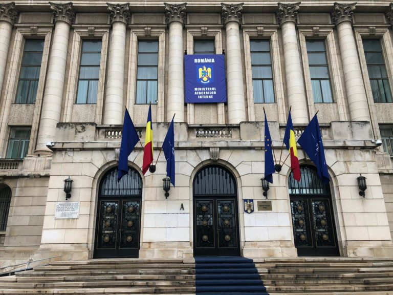 VIDEO – Declarații de presă la Ministerul Afacerilor Interne