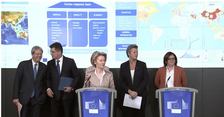 VIDEO Comisia Europeană anunță o echipă la nivelul UE privind noul coronavirus