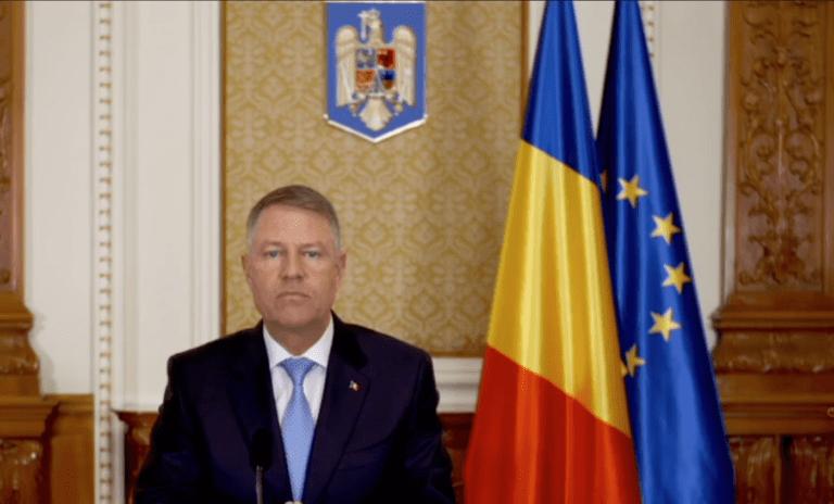 Klaus Iohannis,apel către pensionari: Limitați deplasările, cu excepția celor de strictă necesitate