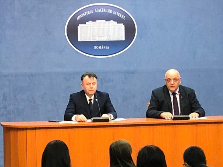 VIDEO – Declarații de presă la MAI, în contextul înmulțirii cazurilor de Covid-19 în România