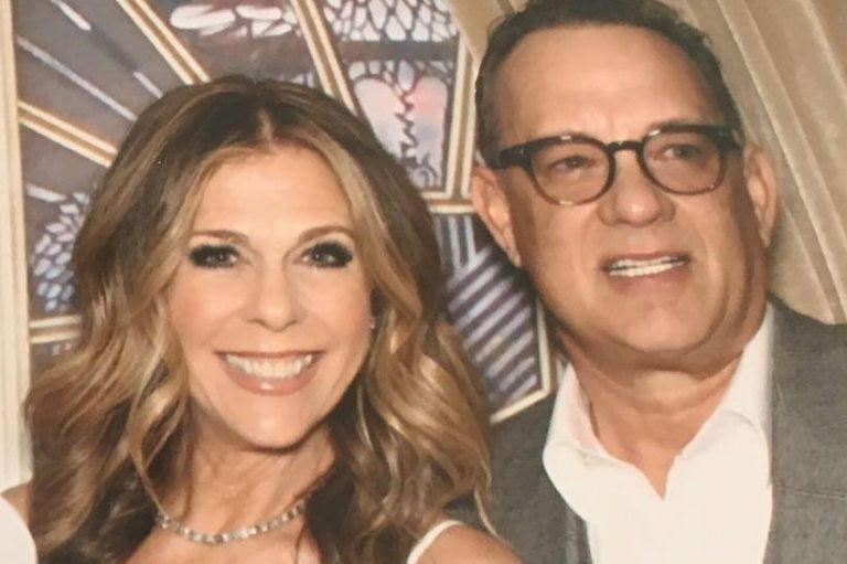 Tom Hanks și soția sa au Covid-19