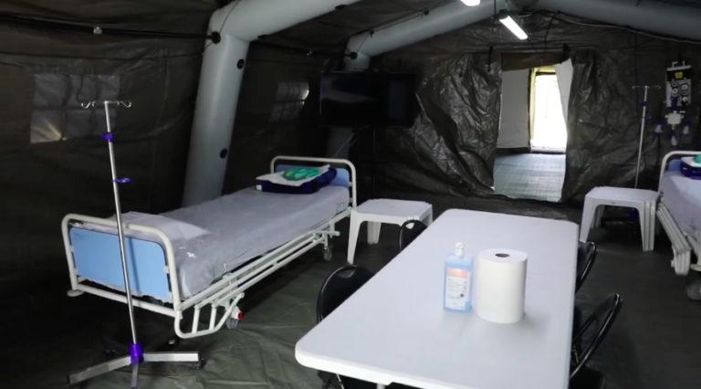 MApN a început pregătirile pentru spitalul de campanie de pe stadionul CFR din Timişoara