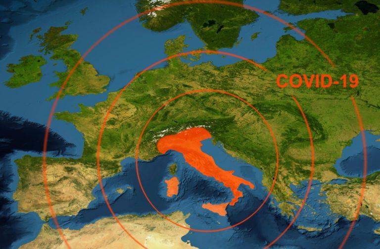 Raport: Numărul real al cazurilor de COVID-19 din Italia este de 10-20 de ori mai mare