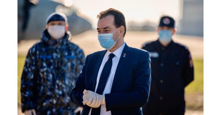 Orban, despre câte măști va produce uzina specială Dragomirești