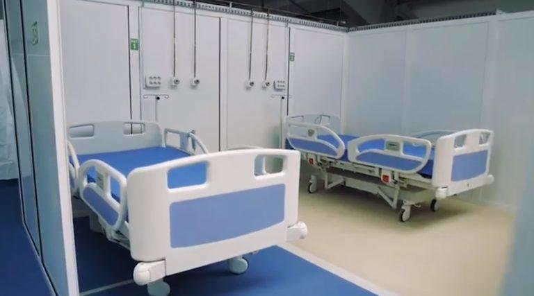 Spitalul Mobil de la Leţcani, cu 250 de paturi, va fi predat ISU și va fi trecut în regim de conservare