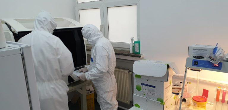 Capacitatea de testare în România pentru COVID-19 ar putea crește și mai mult