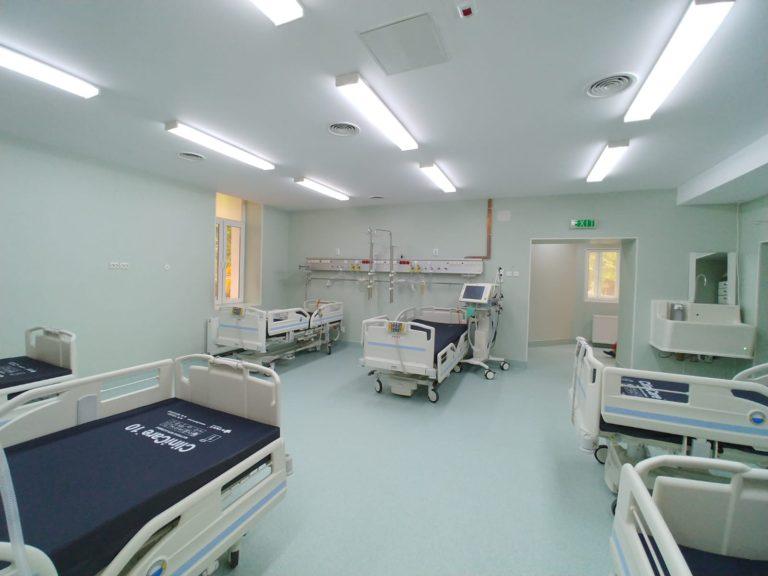 """Institutul """"Marius Nasta"""" a suplimentat numărul de paturi pentru pacienții COVID"""