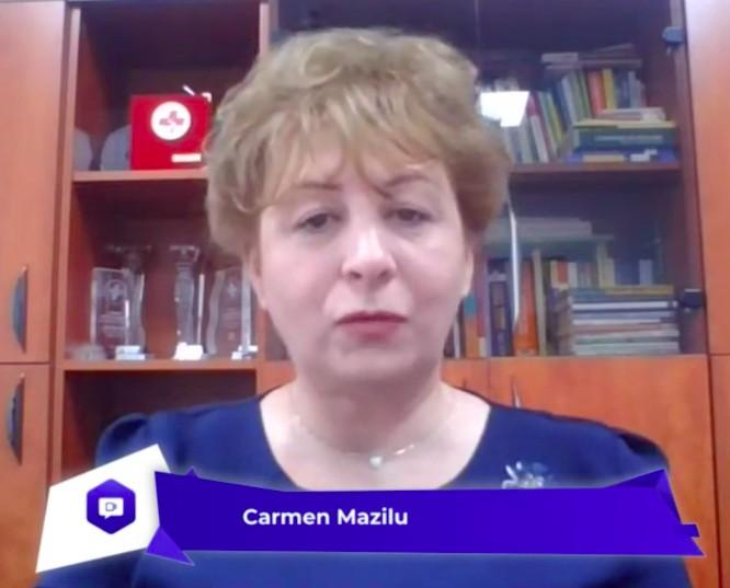 Carmen Mazilu: Le mulțumesc tuturor asistenților medicali pentru efortul și implicarea cu care-și fac datoria