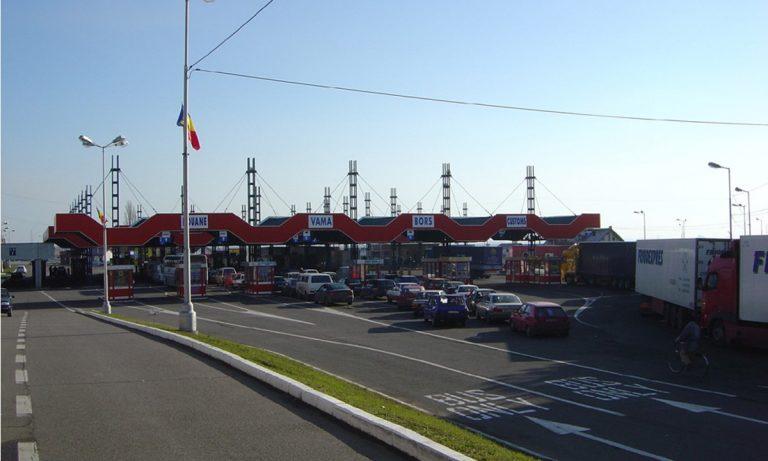 Aglomerație la PTF Nădlac I, atât pe sensul de intrare, cât și pe cel de ieșire din România