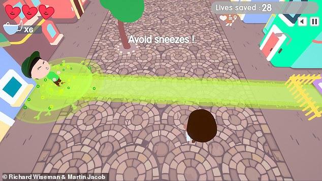 Jocul pentru calculator care îi învață pe copii distanțarea socială