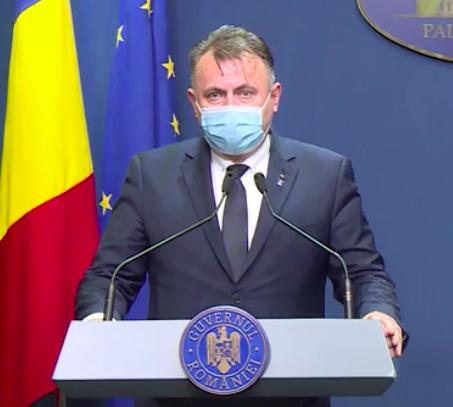 Ministrul Sănătăţii: Țara noastră ar putea primi, din decembrie, doze de vaccin anticoronavirus