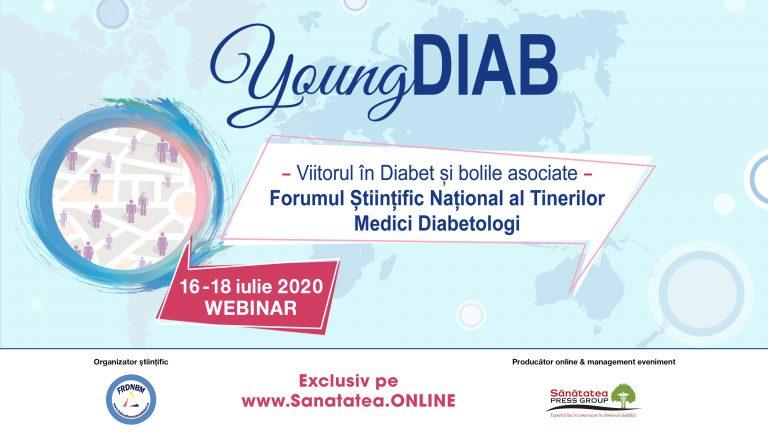 VIDEO S-a dat startul YoungDIAB 2020 – Forumul Științific Național al Tinerilor Medici Diabetologi