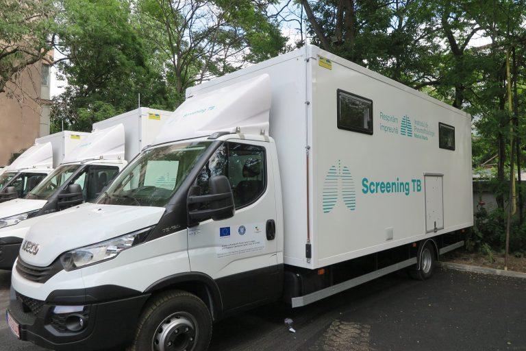 Screening TB: Caravanele de depistare a tuberculozei, pentru a doua săptămână în județul Bacău