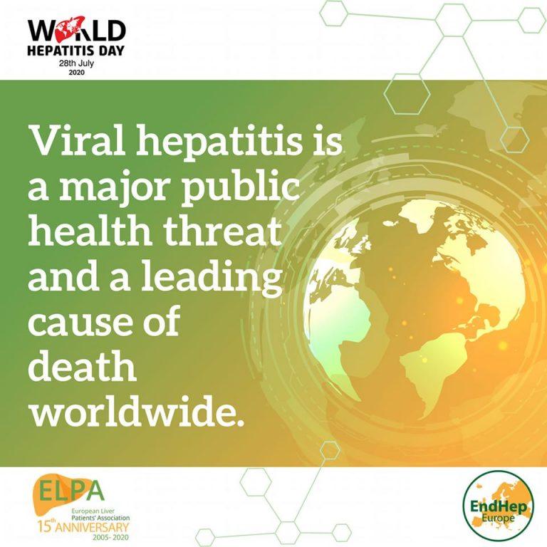 """""""Viitorul fără hepatită"""", tema Zilei Mondială de Luptă împotriva Hepatitelor"""