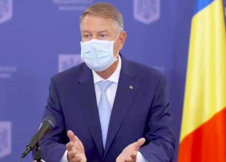 Președintele Iohannis, ședință de lucru cu premierul și membri ai Guvernului, pe tema evoluţiei pandemiei