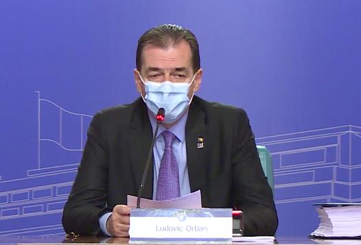 Premierul a anunțat pragul de răspândire al SARS-CoV-2 pentru deschiderea teatrelor, cinematografelor, restaurantelor
