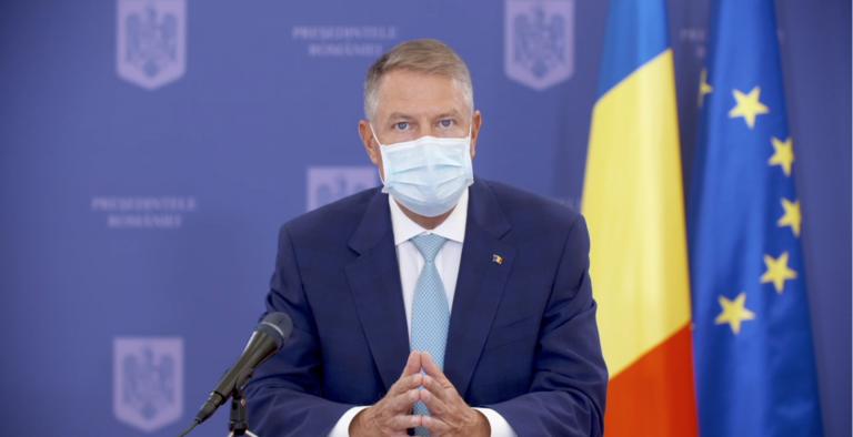 VIDEO Klaus Iohannis face declarații de presă