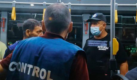 Controale ale purtării măştii, în mijloacele de transport în comun în Bucureşti