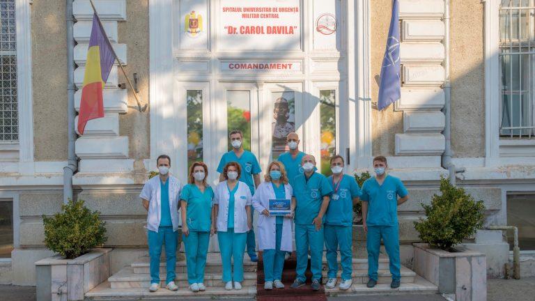 Premiul Special Romanian Healthcare Awards, acordat echipei medicală a Centrului de Boli Cardiovasculare al SUUMC Carol Davila