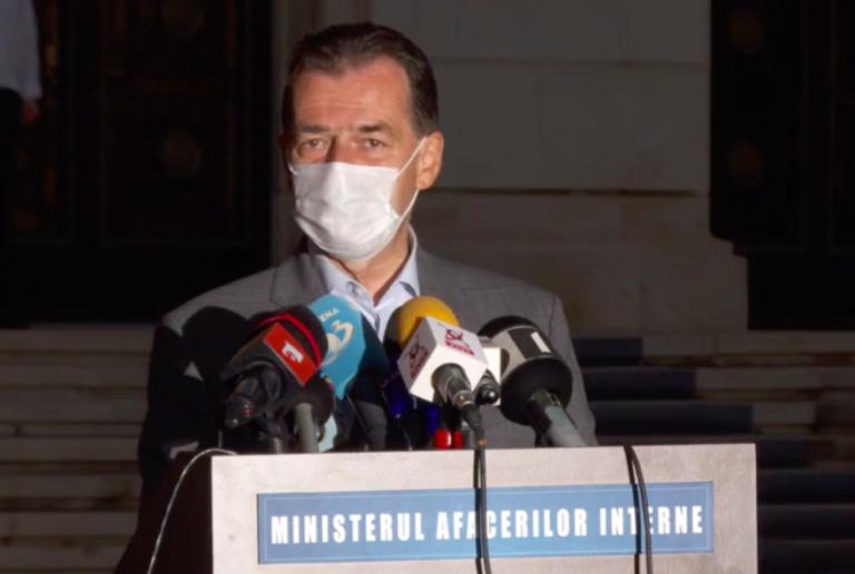 Premierul Orban: Există locuri de tratare pentru mari arşi în spitale
