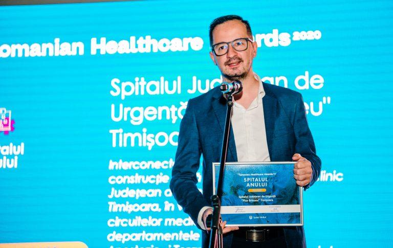 Romanian Healthcare Awards: SJU Timișoara este Spitalul Anului