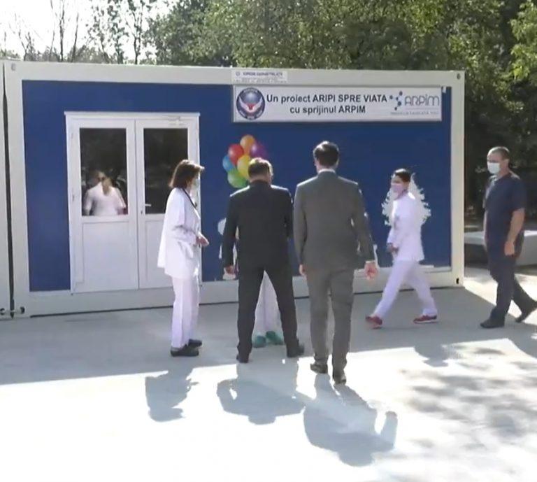 Cele 60 de paturi de spitalizare de zi din ICF vor fi relocate în centrul modular