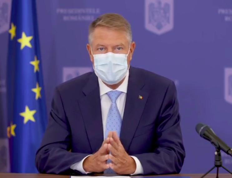 Iohannis,despre pandemie:Pentru a ieşi învingători este extrem de important să gândim şi să planificăm global