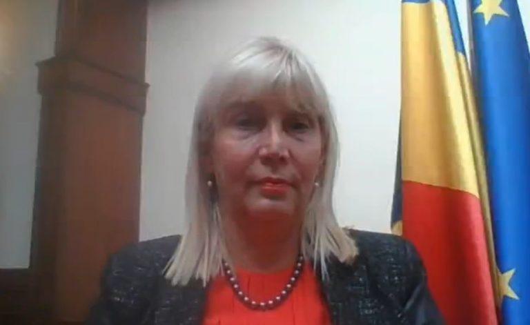 VIDEO Rectorul UMF Cluj, prof. dr. Anca Buzoianu, despre deschiderea noului an universitar