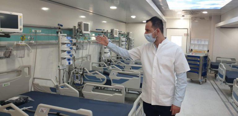 Managerul Spitalului Judeţean Timişoara anunță redeschiderea zonei roșii