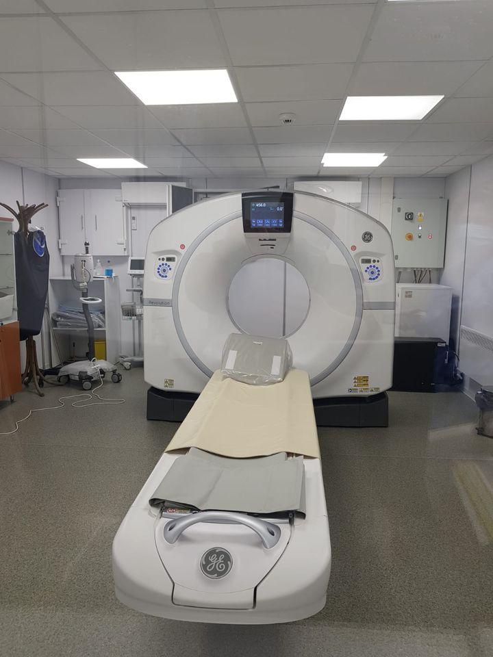 SCJU Arad are un al doilea CT funcțional