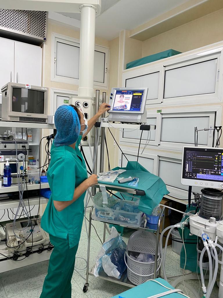 Spitalul de pediatrie Grigore Alexandrescu, dotat cu aparatură de 152.000 de euro