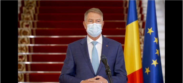 VIDEO Klaus Iohannis: Vaccinul e singura soluţie viabilă de a pune capăt pandemiei