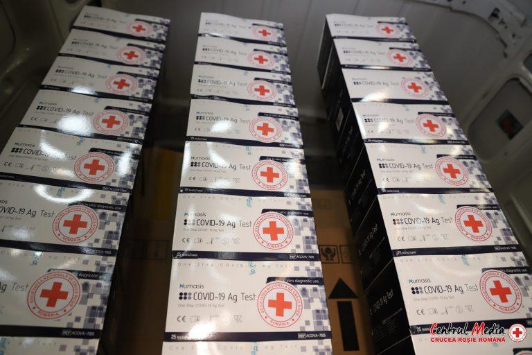42.000 de teste rapide COVID-19 pe bază de antigen, pentru UPU din spitalele din țară în acord cu DSU