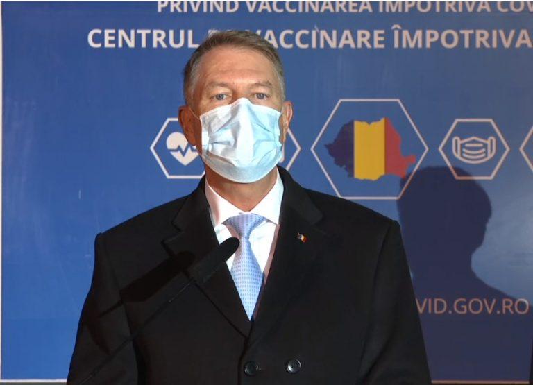 VIDEO Iohannis: A fost aprobată strategia de vaccinare în CSAT. Abia aștept să vină vaccinul
