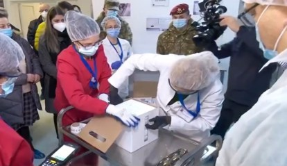 """Centrul de vaccinare de la """"Cantacuzino"""" va imuniza, de luni, câte 20 de persoane din etapa a treia"""